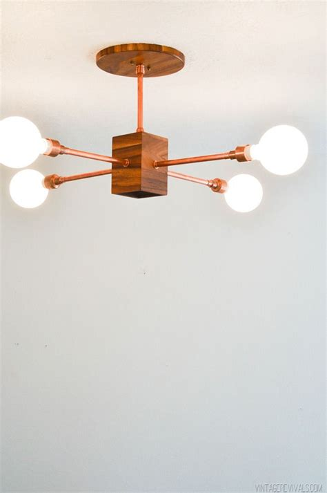 Diy Pipe Light Fixture 5 Diy S I D Like To Try Interiors