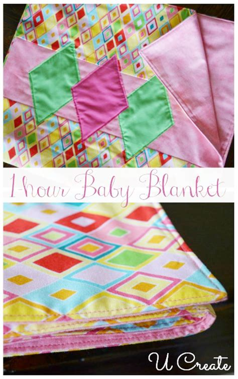 One Hour Quilt by 1 Hour Bindless Baby Quilt U Create