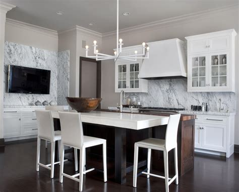 marble kitchen design 6 innovative backsplash ideas