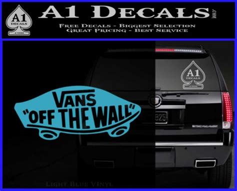 Design Garages West Gosford 28 vans off the wall decal 28 vans off the wall