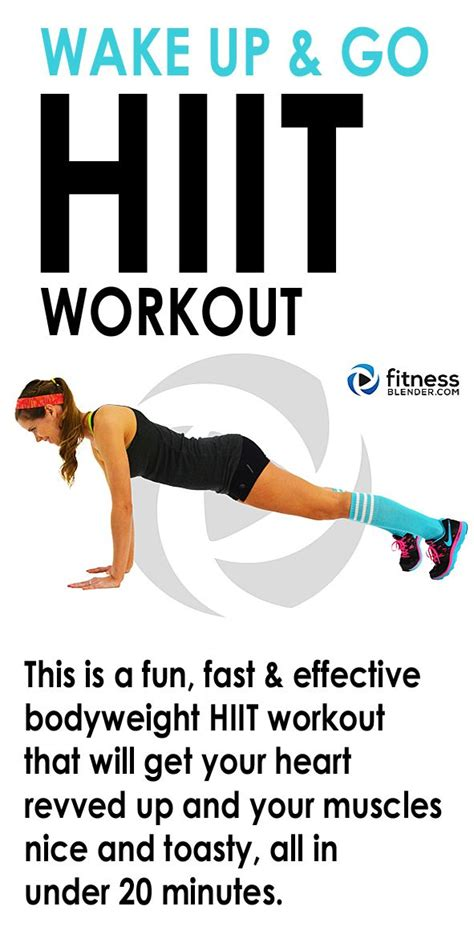 25 best ideas about hiit workout at home on