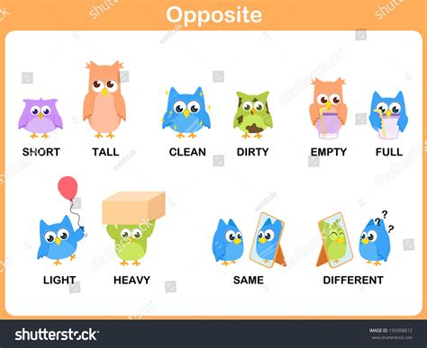 Antonym For Light by Worksheets Opposites Words Chicochino Worksheets And