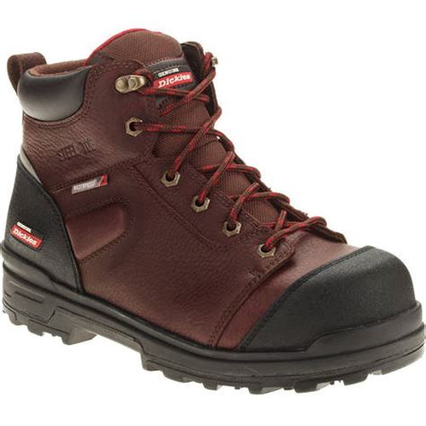 work boots for walmart genuine dickies s jobrated truxx waterproof work boot