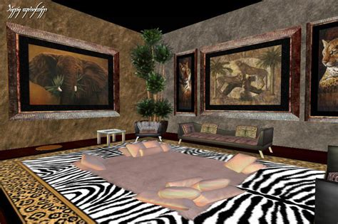 safari room 2 around the grid