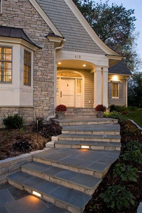 Front Staircase Design with How To Design Exterior Stairs