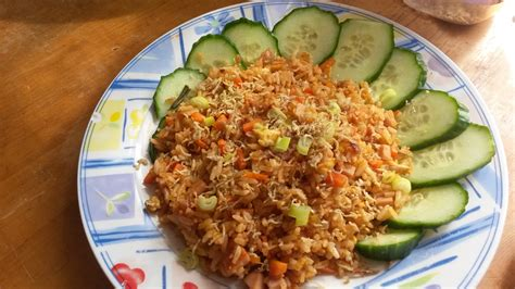 nasi goreng indonesian fried rice javanese wanderer