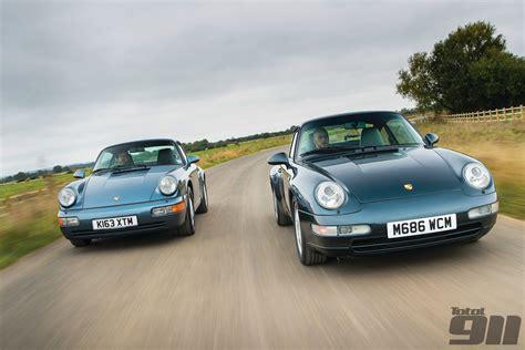 porsche 964 vs 993 porsche 964 carrera versus porsche 993 carrera total 911