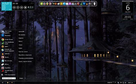 themes for windows 7 dark forest dark theme for windows 7