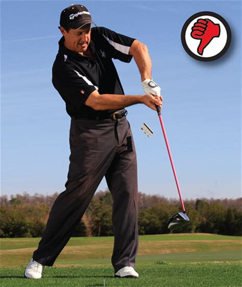 chicken wing golf swing slice no more golf tips magazine