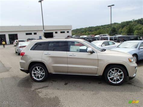 beige jeep grand cherokee cashmere pearl 2014 jeep grand cherokee summit 4x4