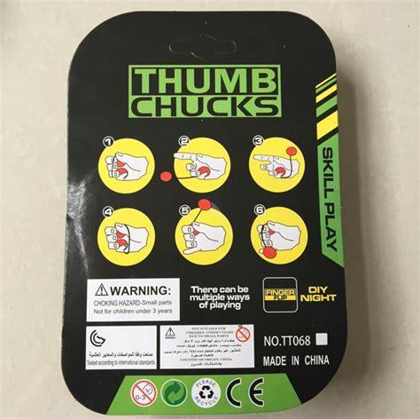 Finger The Yo Yo Thumbs Chucks Finger Skill Fidget Spinner Led newest flare led thumb chucks yo yo skill fidget bundle