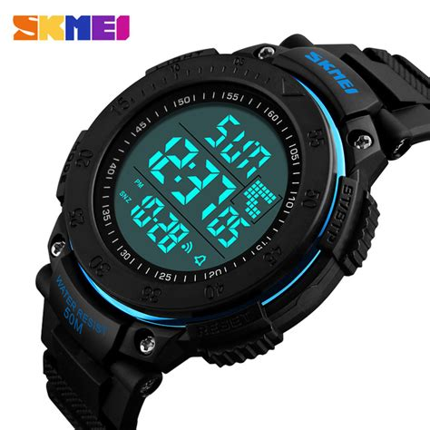 Jam Tangan Denim Blue skmei jam tangan digital pria dg1237 black blue jakartanotebook