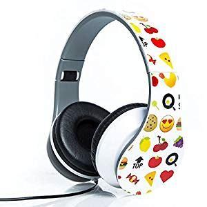 amazoncom emoji folding fatheads stereo headphones