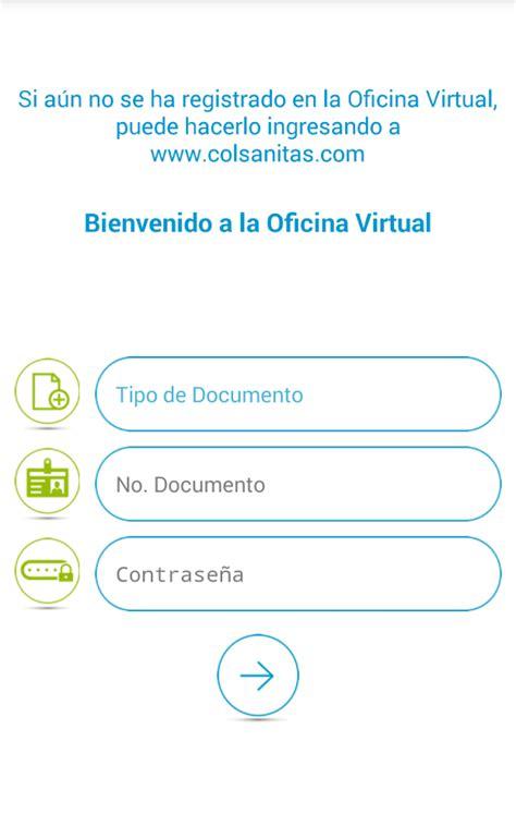 oficina virtual colsanitas colsanitas aplicaciones android en google play