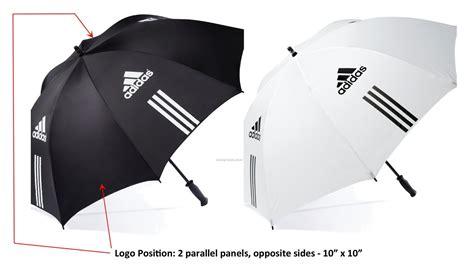 Adidas Umbrella Limited by Adidas 60 Quot Single Canopy Manual Open Umbrella 2011 1