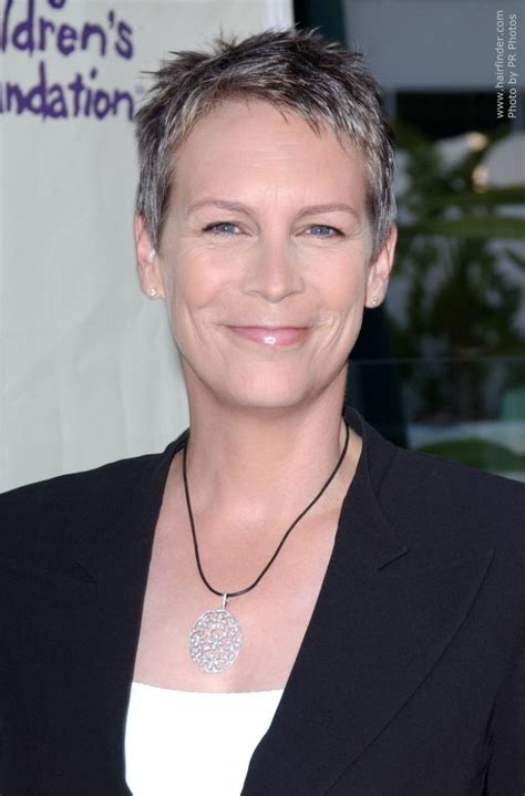how to style hair like jamie lee curtis lee curtis how jamie lee curtis pixie hairstyle newhairstylesformen2014 com