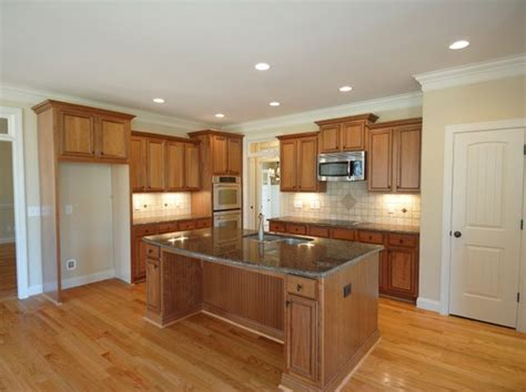 Wood Trim For Kitchen Cabinets White Trim Wood Cabinets Lighting For The Home