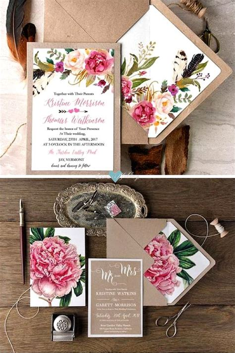 tendencias en invitaciones boda para 2017 lluvia de arroz como hacer sobres forrados para tus invitaciones de boda 161 bellos