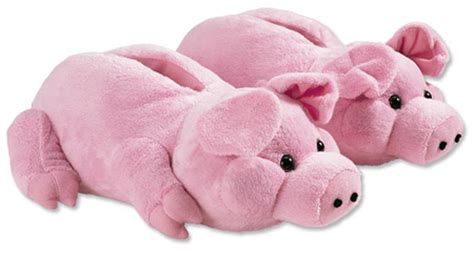 pig house shoes image gallery pig slippers