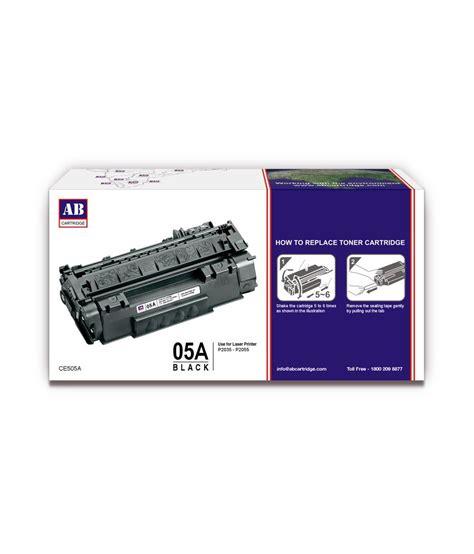 Toner Hp 05a ab 05a black toner cartridge ce505a hp 05a black toner