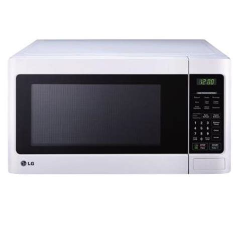 lg electronics 1 1 cu ft countertop microwave in smooth