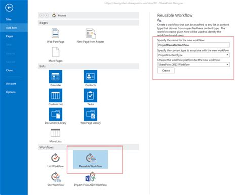 sharepoint 2013 reusable workflow sharepoint 2013 create reusable workflow on content type