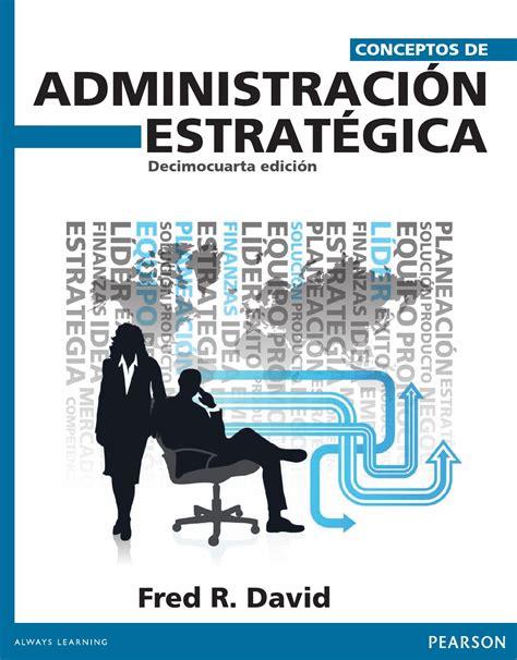 libro tres no es compania conceptos de administracion estrategica 14edi david by gia agu issuu