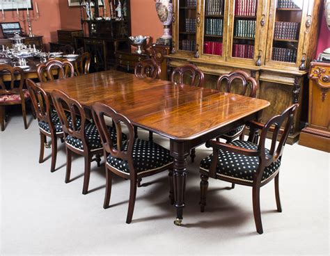 Mahogany Dining Room Table And 8 Chairs Antique Regency Mahogany Dining Table 8 Admiralty Chairs