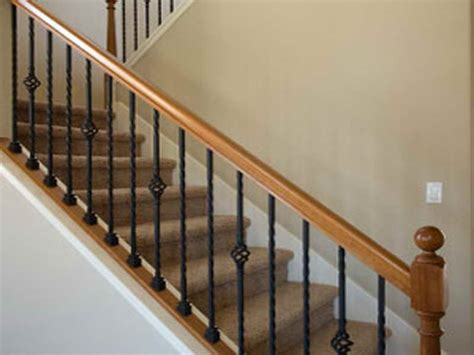 stair banister kits half wall stair railing joy studio design gallery best