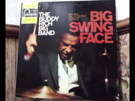 buddy rich big band big swing face the buddy rich big band lp big swing face live at the