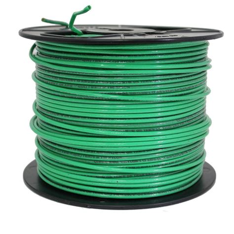 cerrowire 500 ft 12 stranded xhhw 2 wire green