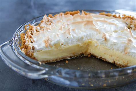 lemon ice box pie recipe dishmaps