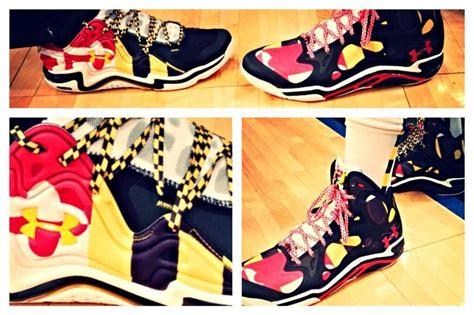 maryland pride basketball shoes maryland s new armour quot maryland pride quot basketball shoes
