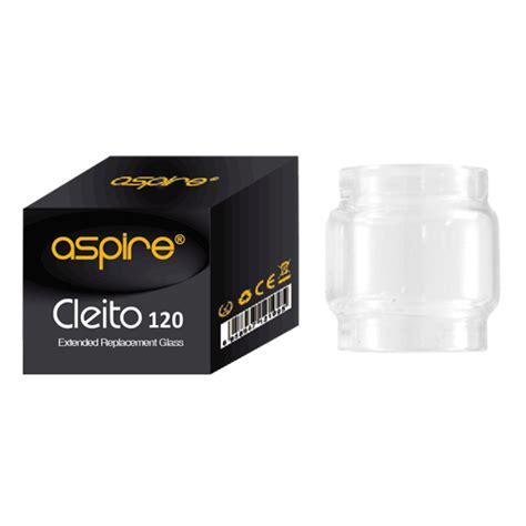 E155 Aspire Cleito 120 Replacement Glass Tank Vape Kaca Penggan 5ml upgrade aspire cleito 120 replacement glass