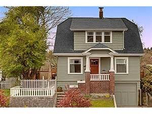 Arts And Crafts Bungalow House Plans Seattle Craftsman Homes Craftsman Houses For Sale