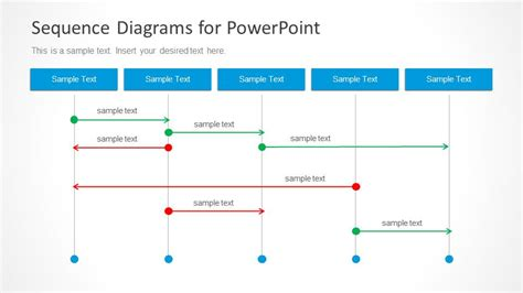 Powerpoint Sequence Diagram Sequence Diagrams For Powerpoint Slidemodel
