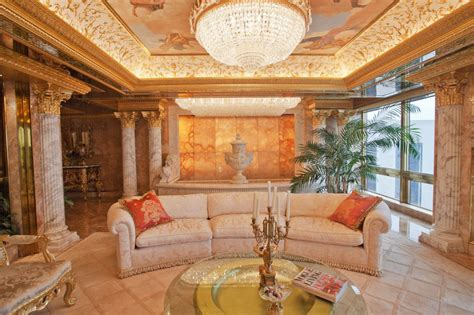donald trump house interior inside donald trump s manhattan apartment mansion