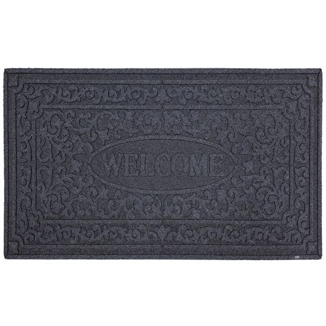 scanned rubber st mohawk home recycled rubber door mat st croix notebook