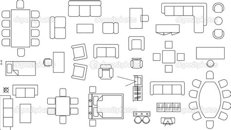 clipart furniture floor plan floor plan symbols clipart clipart suggest