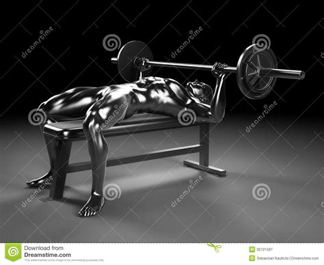 metal bench press metal bench press royalty free stock photography image