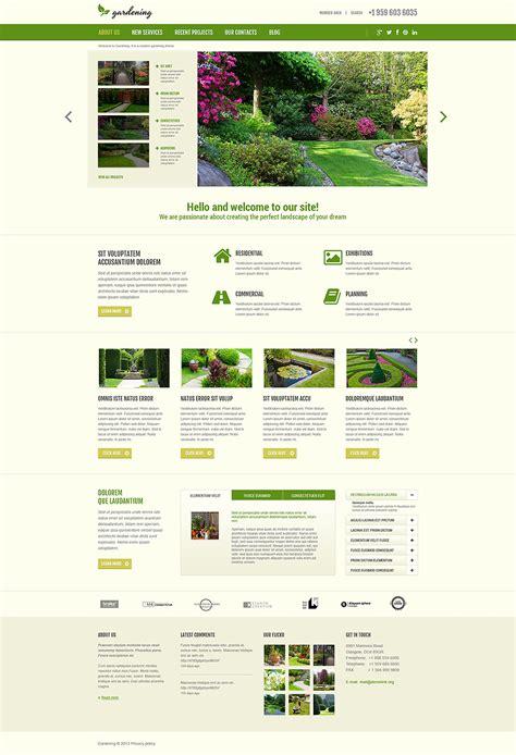 joomla template layout tutorial garden design responsive joomla template 48960 by wt