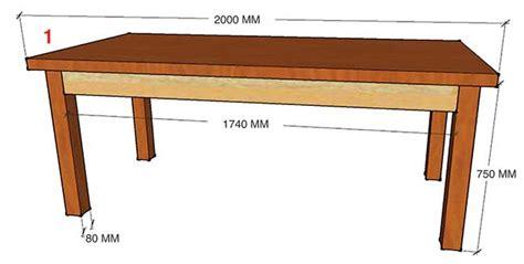 tavolo da te tavolo taverna fai da te costruzione illustrata passo
