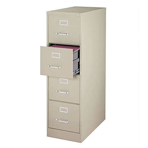 4 drawer commercial letter size file cabinet finish putty