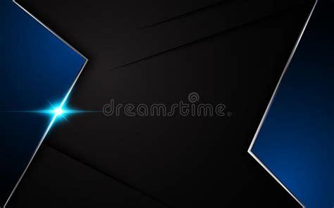 background layout design blue vector black background metallic blue frame layout