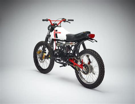 Moped Motorrad by Indigan Derbi Diablo Moped