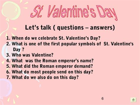 s day questions s day