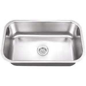 lovely Single Bowl Undermount Kitchen Sink #1: 851583005223.jpg