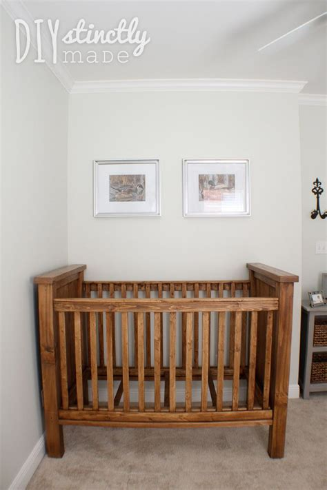 Baby Crib Diy by 1000 Ideas About Rustic Crib On Cribs