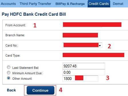 how to make payment of hdfc credit card finance guru speaks how to pay hdfc credit card bill