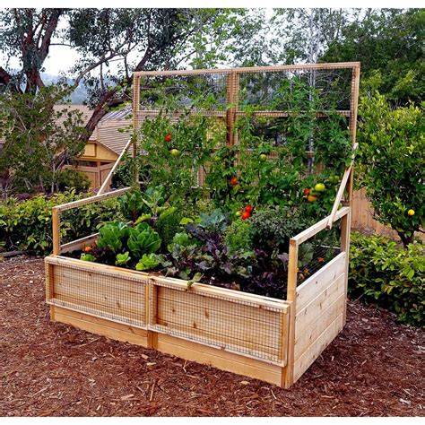 outdoor living today  ft   ft garden   box